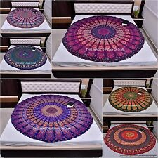 Indian Round Mandala Cotton Ethnic Table Runner Door Hippie Tapestry Yoga Mat