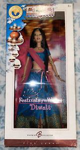 Festivals of the World Diwali Barbie Doll J0946 (NIB/NRFB) #3