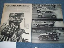 1960 NHRA Detroit Dragway Drag Race Vintage Highlights and Info Article