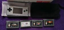 Nintendo Gameboy micro silver boxed