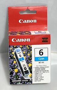 New Canon BCI-6C Genuine Cyan Ink Cartridge Canon 4706A003