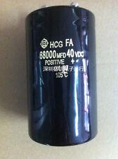 1PCS HITACHI HCG FA 40V 68000UF Electrolytic Capacitor 65X105mm 105℃ #E298 YX