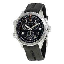 Hamilton X-Wind GMT Chronograph Black Dial Men'sWatch H77912335