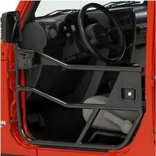 Jeep CJ CJ7 CJ8 Wrangler YJ Halbtüren Element Satz HighRock Satin schwarz 80-95