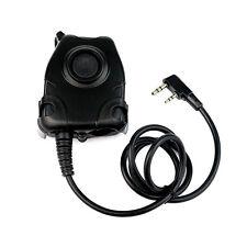 New Waterproof PTT Cable For Baofeng UV-5R UV-5RA K Plug for H50 MSA SORDIN H60