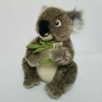"FAO Koala Bear Plush Stuffed Animal 12"" with Eucalyptus Branch 2014 Toys R Us"