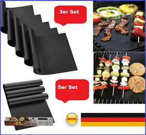 BBQ Grillmatte Antihaft Größe 40 x 33 cm Glasfaser Gasgrill ,Smoker & Backofen