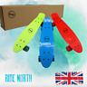"22"" Quality Penny Board Style Cruiser Retro Skateboard, Complete Boards Uk based"