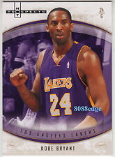 2007-08 FLEER HOT PROSPECTS BASE CARD: KOBE BRYANT #1 LOS ANGELES LA LAKERS MVP