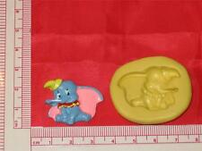 Dumbo Elephant Silicone Mold A730 For Craft Chocolate Resin Clay Candy Soap