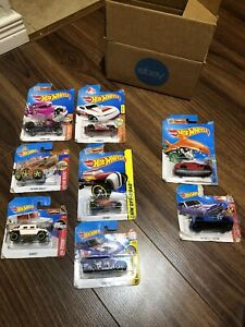 NEW / Damaged / Incorrect Packaging LOT OF Hotwheels Variety (8) -HW3