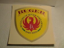 RUGER FIREARMS 30 YEARS 1949 - 1979 PHOENIX RIFLE PISTOL GUN HUNTING DECAL NEW