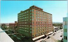 BILLINGS, MT Montana  STREET SCENE   NORTHERN Hotel   c1960s Cars Postcard
