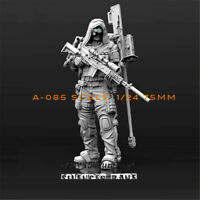 1/24 Biochemical Sniper Resin Kits Unpainted Model GK Unassembled 75mm