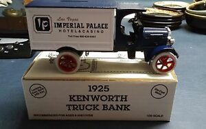 ERTL 1925 Kenworth truck bank #8188 Imperial Palace