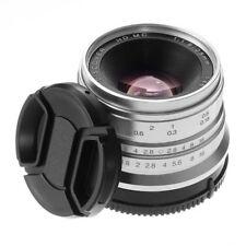 25mm F/1.8 Manual Focus MF Fixed Lens for Sony E NEX A6300 A6000 A5100 A5000 A7