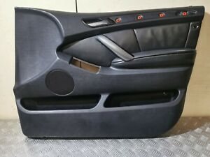 BMW X5 E53 Front Right Door Card Driver Side Black O/S/F RHD 7985803 #13