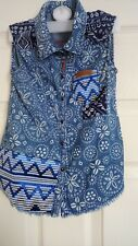 girls desigual shirt to fit 104cms (3/4)