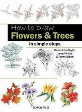 How to Draw: Flowers & Trees in Simple Steps