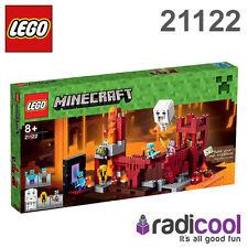 21122 LEGO il Nether FORTEZZA Minecraft età 8+/571 Pezzi/Nuova Release 2015!