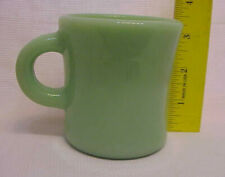 1 Fire King Jadeite Jadite C-Handle Coffee Restaurant Mug Cup Green Milk Glass
