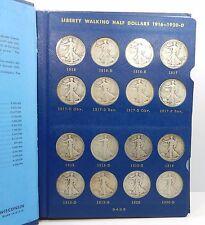 1916 - 1940 Walking Liberty Half Dollar Set ( No 1921, 1921 D) - AG/G to VF !!