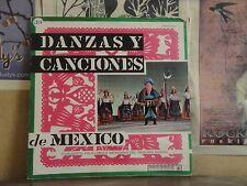 DANZAS Y CANCIONES DE MEXICO - LP PE-13