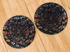 Patches / Coaster Chinese Japanese Dragons Bats