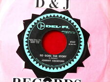 JOHNNY CRAWFORD~ SO GOES THE STORY~ UNPLAYED COPY~ MINT~ DAYDREAMS~ TEEN 45