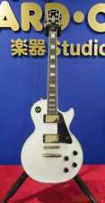 EPIPHONE LP CUSTOM PRO White Electric Guitar with Soft Case Free Shipping