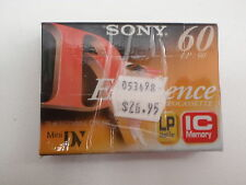 SONY DVM60EXM2 EXCELENCE 60MIN 70M LP MINI DV TAPE NEW