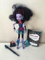 Monster High Jane Boolittle Doll With Accessories COMPLETE