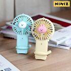 NINIZ Summer Cutie Mini Fan Cooling Fan Portable Fan LED