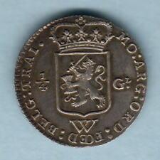 Netherlands West Indies. 1794 1/4 Gulden..  Much Lustre - gEF