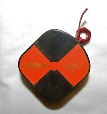 Gammon Reel For Plumb Bob Surveying Retractable Cord White Amp Orange Target