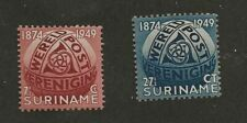 Suriname Sc# 238-9 Mh Stamps