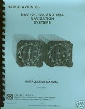 NARCO NAV 121,122,122A  INSTALLATION MANUAL