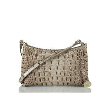 NWT Brahmin Anytime MinMelbourne Shoulder Clutch Bag BARLEY