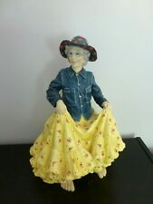 """Blue Sky Clayworks Dancing Lady Figurine 13"""", 2002, Retired Signed"""