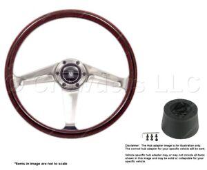 Nardi Classic 367mm Steering Wheel + Hub for MG MGB 5049.36.3000 + .3102