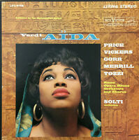 RCA LIVING STEREO LSC-6156 *SHADED DOG* AIDA *PRICE VICKERS SOLTI* EX/NM