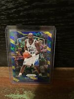 2019-20 Panini Prizm Prizms Choice Blue Yellow and Green #19 Karl Malone JAZZ