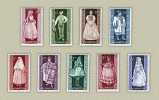 Hungary 1963. Costumes nice set MNH (**) Michel: 1954-1962 / 7.50 EUR