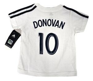 Adidas MLS Los Angeles Galaxy Toddler Landon Donovan Tee Shirt NWT 3T