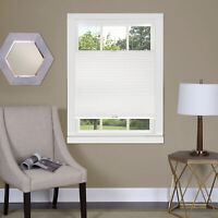 Top Down-Bottom Up Cordless Honeycomb Cellular Shade White