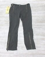 NEW Da-Nang Women's Pants Embroidered Normandy TWW1598650 Size: SMALL