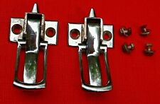 PAIR TRIUMPH TR4A  HERALD  CONVERTIBLE TOP LATCHES  SPITFIRE Mk3 - 1967 OEM