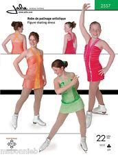 Jalie V Neck Figure Skating Dress Sewing Pattern # 2557 Misses & Girls 22 Sizes