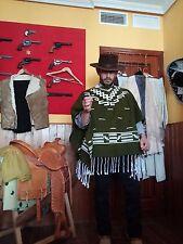 Cowboy Western wool Poncho Clint Eastwood Style Spaghetti