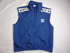 Pearl Izumi Cycling Vest Jersey Full Zip Blue Technical Wear Men's
